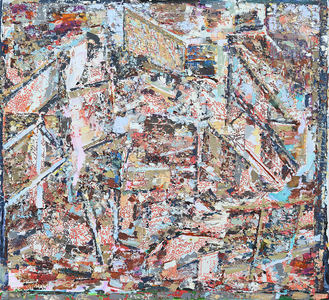 Matthew Kolodziej Elements and Intervals Acrylic on canvas
