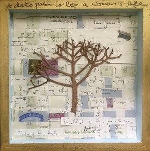 Meg Tweedy Studio Poetry Inspired mixed media