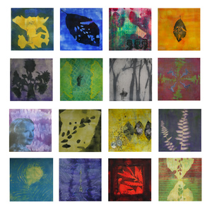 Meg Tweedy Studio Family Stories  Encaustic and paper