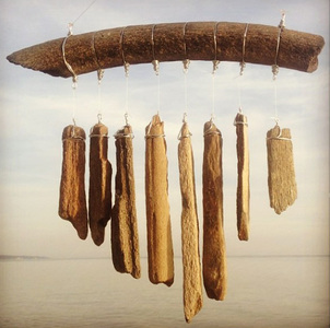 Michael Guy Tomassoni Fossil Wind Chimes