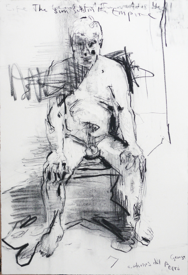 Michael Wright Drawings (figure) charcoal