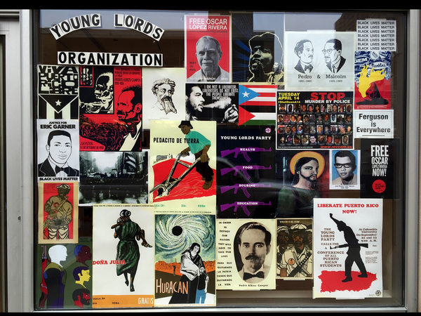 Miguel Luciano Young Lords Vintage poster reproductions courtesy of the Center for Puerto Rican Studies