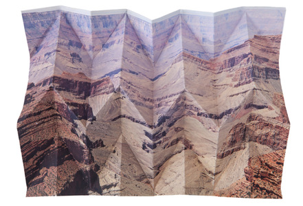 Millee Tibbs Mountains + Valleys flat archival digital print