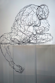 N a o m i  G r o s s m a n Sculptures wire, words