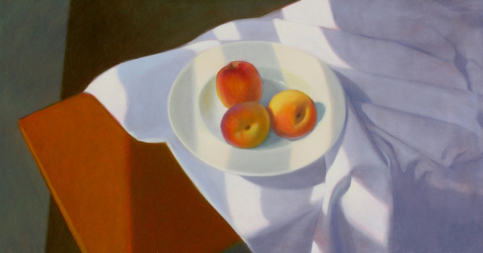 Peter Malone Still Life 2002-2011 oil on wood