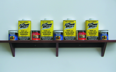 Peter Malone Early Work 1974 - 1981 metal cans, redwood shelf