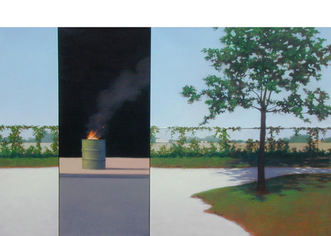 Peter Malone Multiple panel 1992-2002 oil on linen