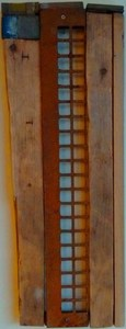 Pete Seligman Constructions Assemblage (wood and metal)