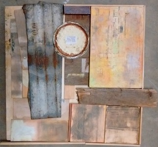 Pete Seligman Constructions Assemblage (wood, metal)