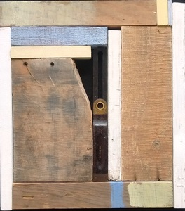Pete Seligman Constructions Wood, metal, acrylic paint