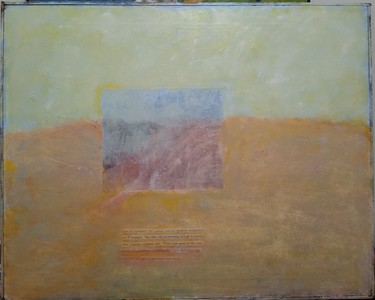 Pete Seligman Paintings Oil and paper on canvas
