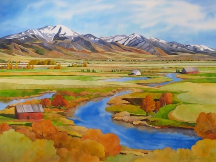 Rebecca Livermore / Paintings Idaho watercolor on paper