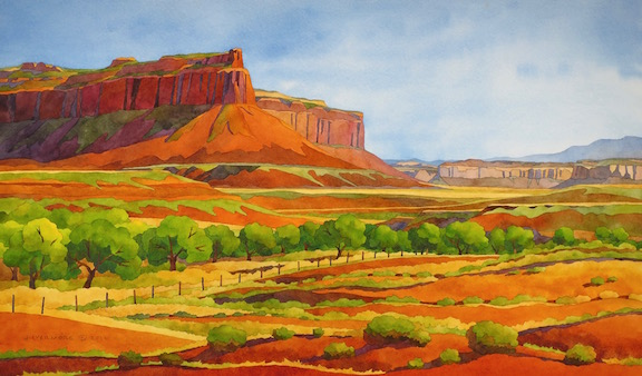 Rebecca Livermore / Paintings Arches & Canyonlands watercolor on paper