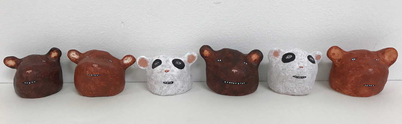 objects & altered bearheads