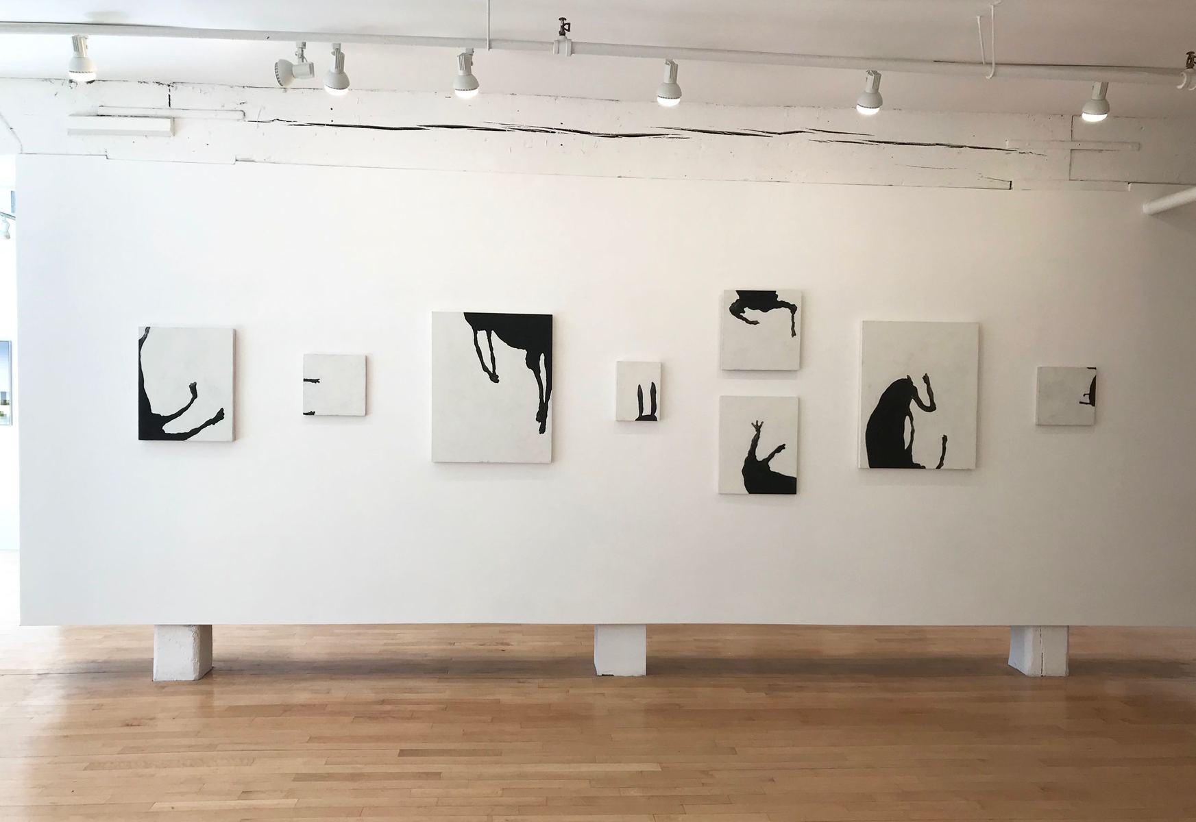 partly Partly, installation view, Gallery Kayafas, Boston