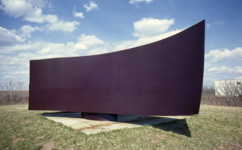 ROBERT GRAY MURRAY SCULPTURE Painted Cor-Ten steel