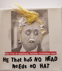RUTH SHARTON Russian Proverbs Mixed Media