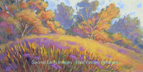 Friar Vincent Petersen Sacred Earth Collection Gallery 1 Acrylic on Canvas