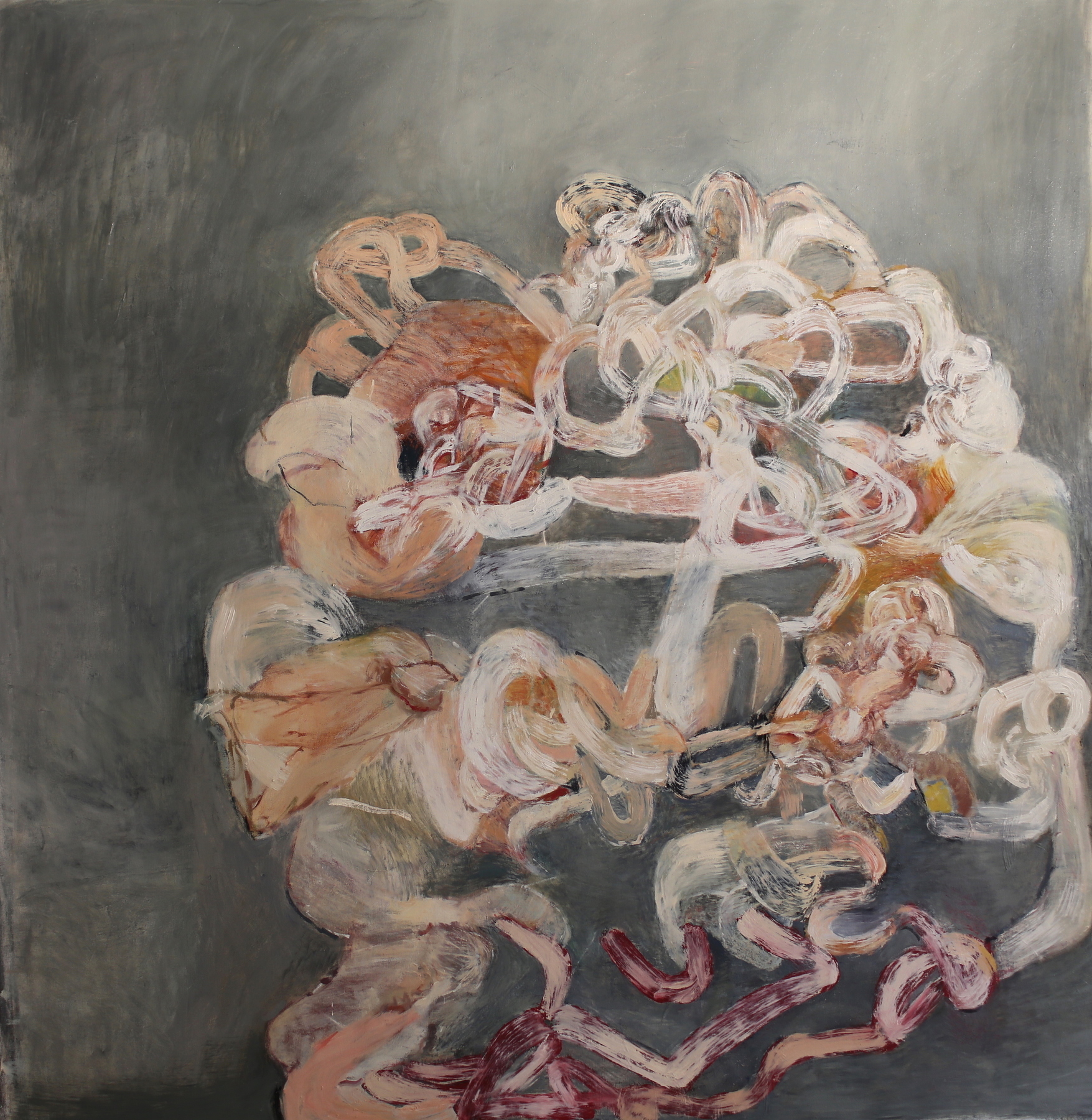 Samantha Palmeri Recent Paintings oil and charcoal on canvas
