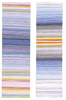 Shona Macdonald Envelope Innards recycled envelopes, PVA, archival MSA varnish,acrylic on canvas
