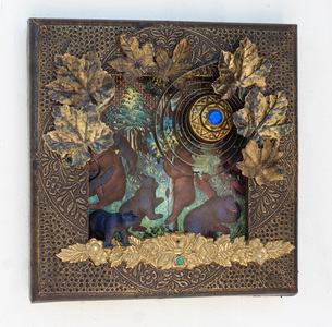 Rusty Crocodiles - The Assemblage Art of Scott Rolfe 2017 Works Assemblage