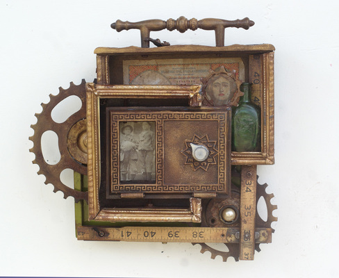Rusty Crocodiles - The Assemblage Art of Scott Rolfe The Natasa Tales
