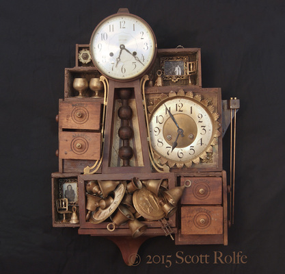 Rusty Crocodiles - The Assemblage Art of Scott Rolfe The Natasa Tales Assemblage
