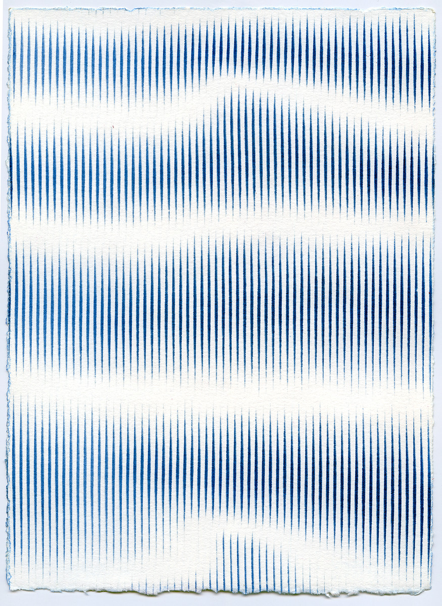 Selected Works 2013 - 2016 Untitled (Stripe on Stripe #3)
