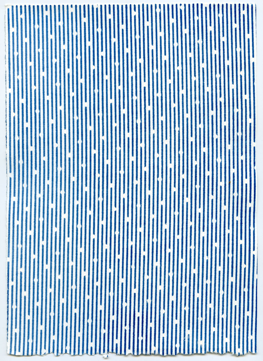 Selected Works 2013 - 2016 Untitled (Stripes on Dots)