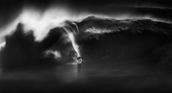 STEVE DYNIE Unforgiving Surf Inkjet Print mounted to Aluminum or Plexiglass