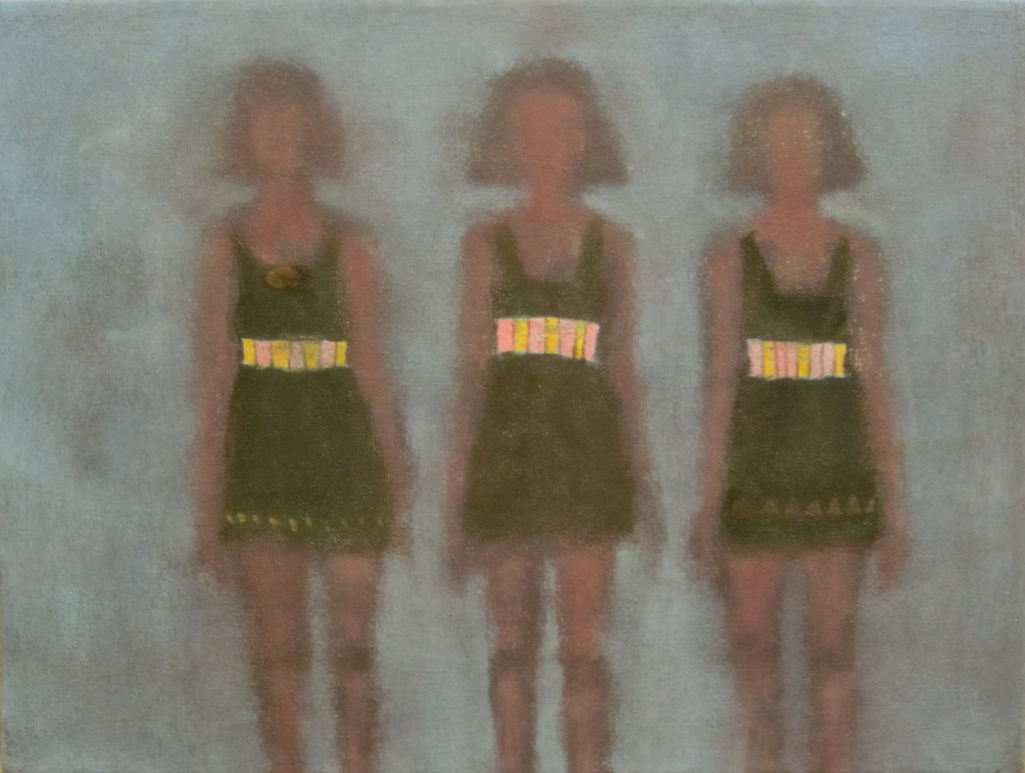 recent paintings No. 6 (Bathing Beauties of 1925)
