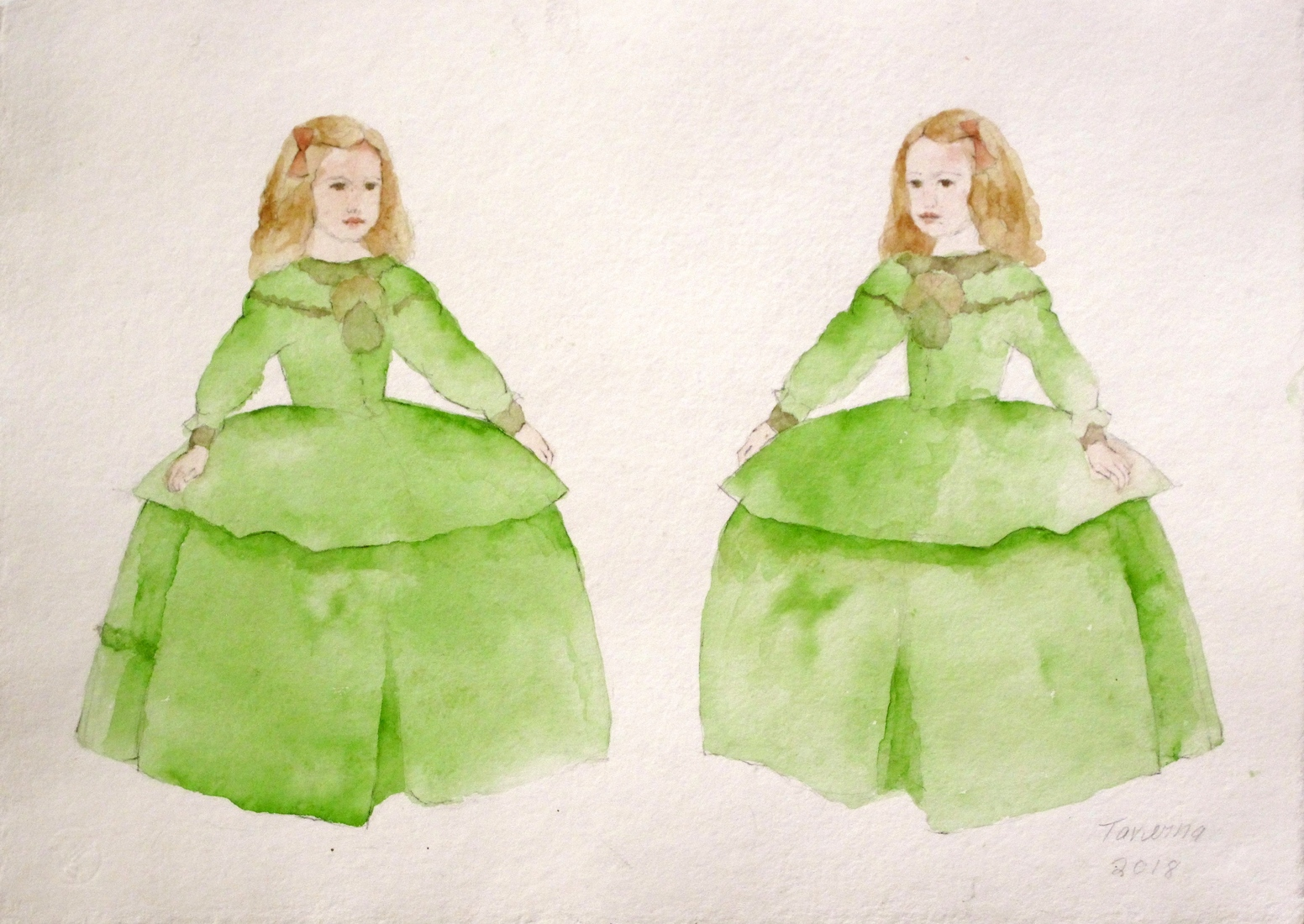 watercolors Double Princess