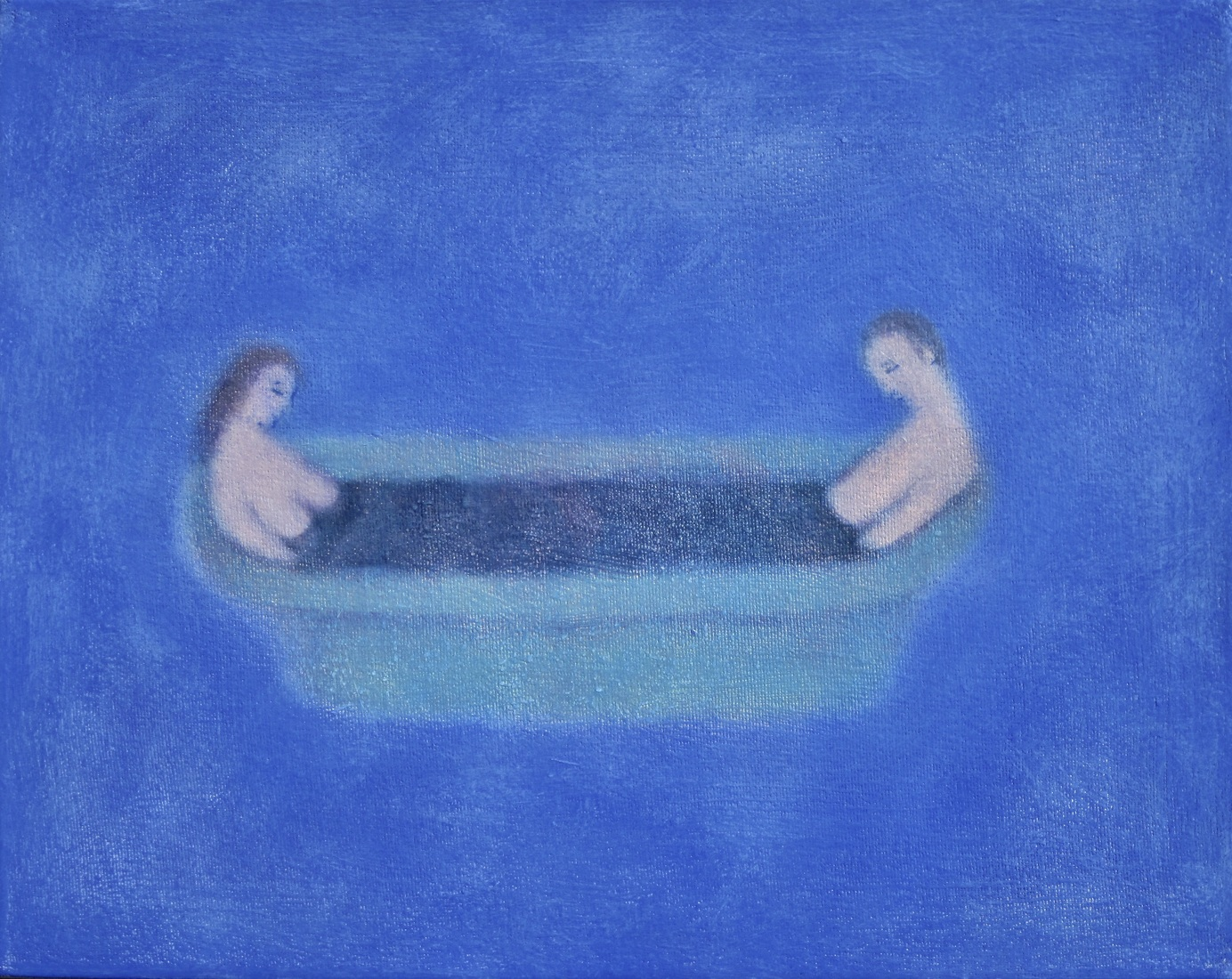 recent paintings  No. 10 (The Bath)