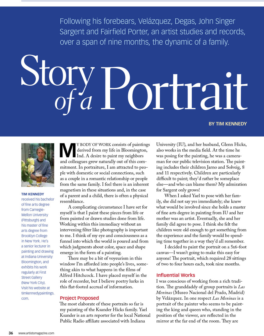 Story of a Portrait