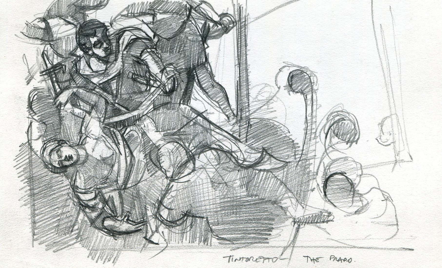 Sketchbooks Prado Tintoretto
