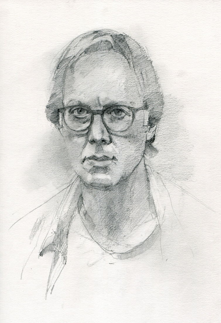 Sketchbooks Self-Portrait