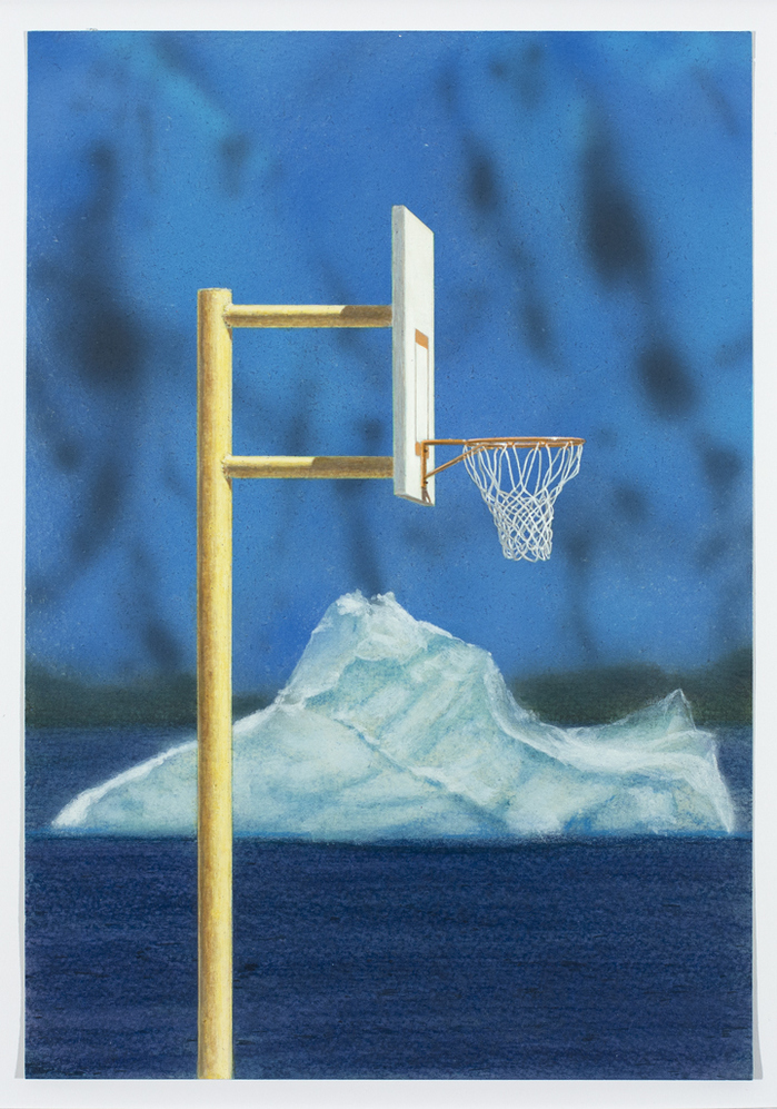 Work Hoop with Iceberg, 2014