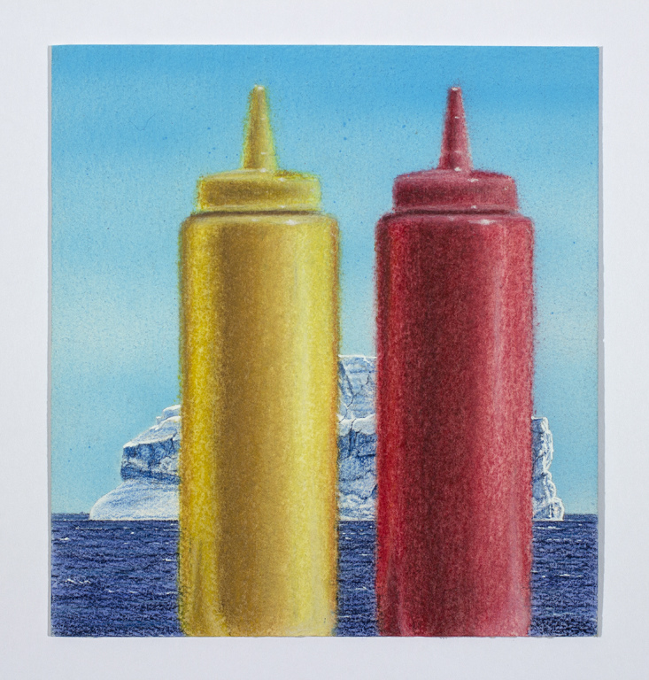 Work Ketchup and Mustard with Iceberg, 2016