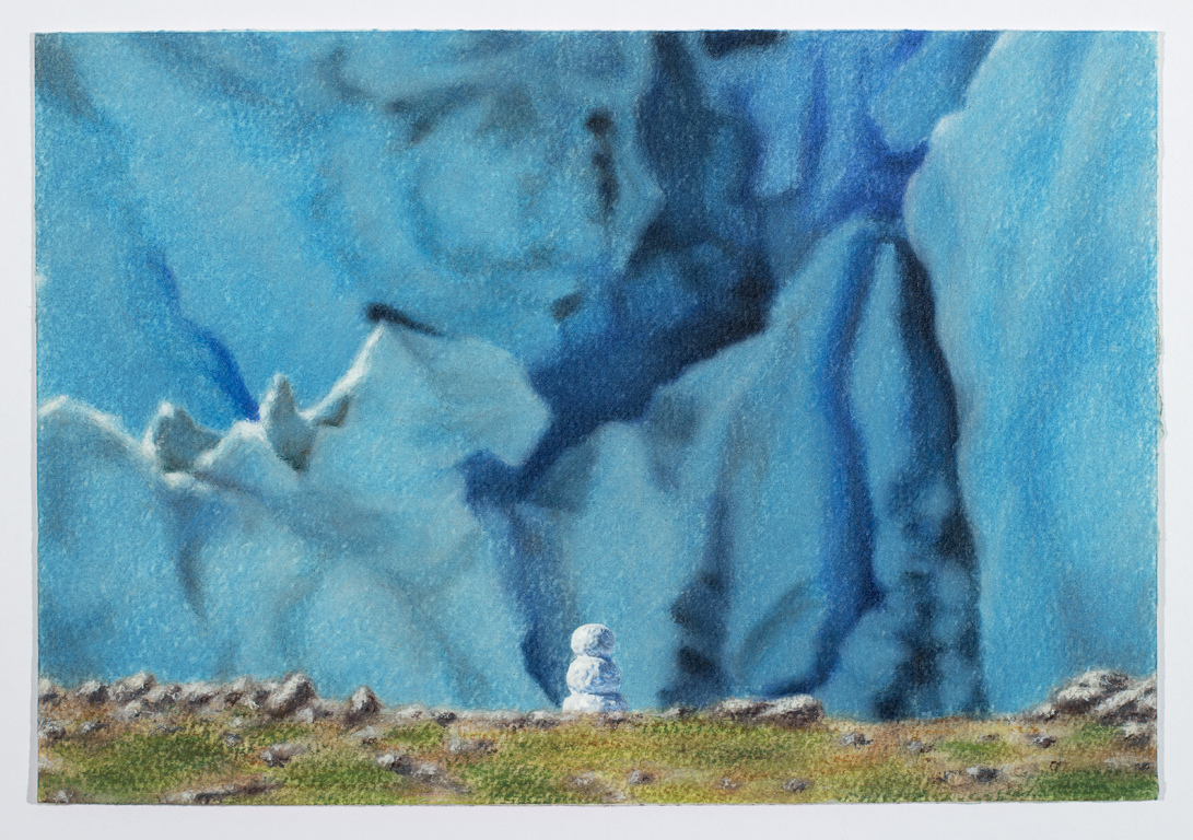 Work Snowman with Glacier, 2016