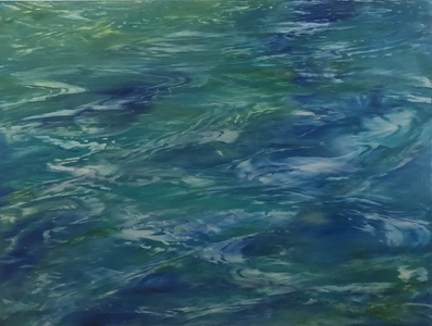 Reflections on Water 30 x 40""