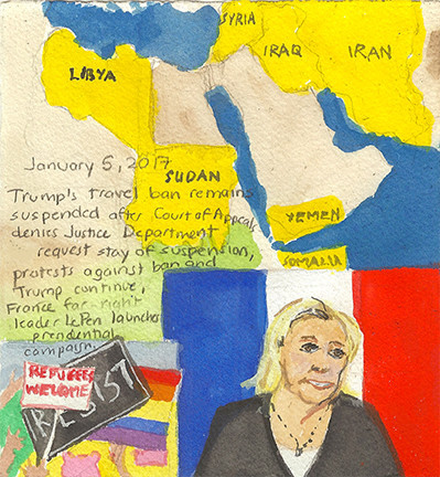 Elise Engler : Diary of a Radio Junkie: Days and Days of