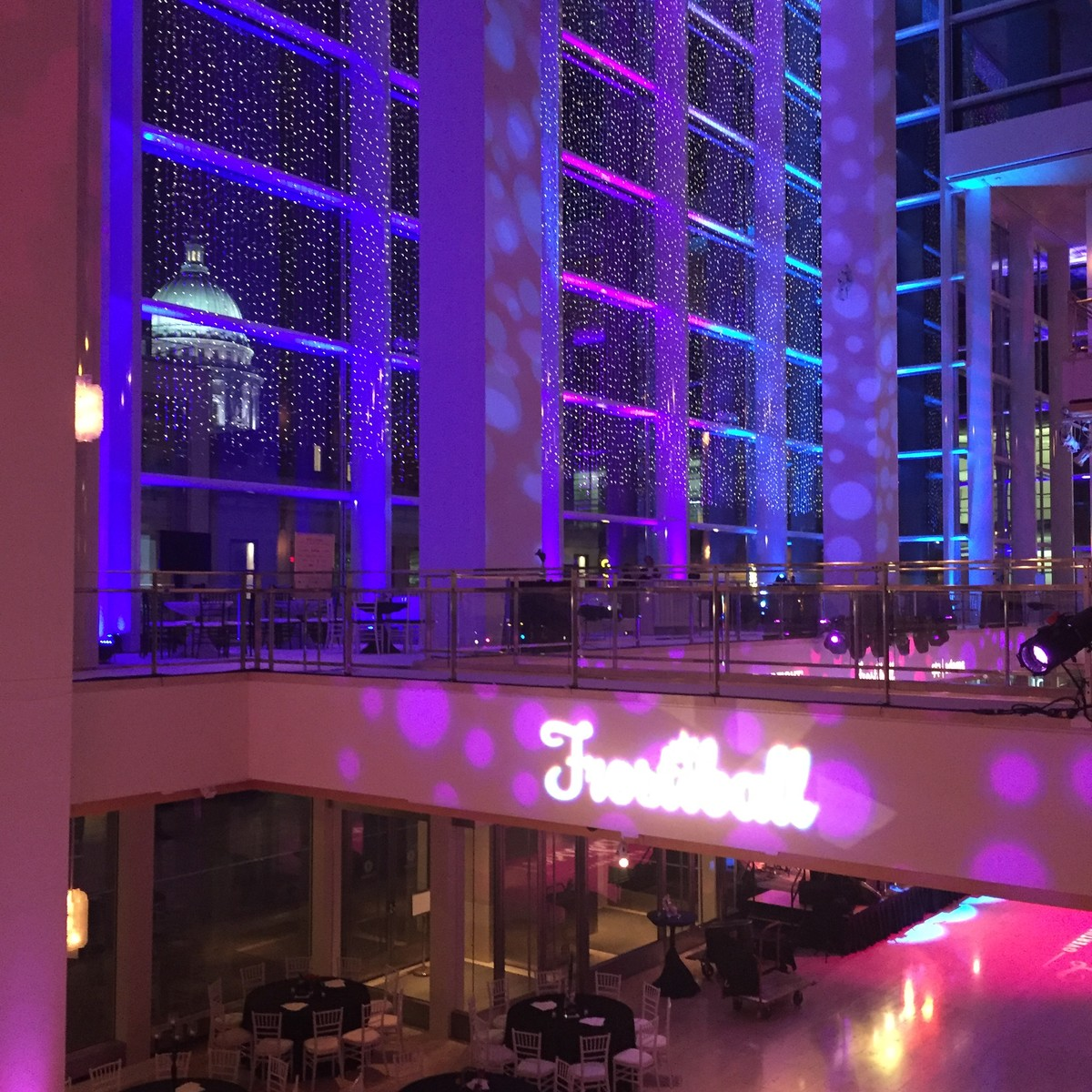 Holiday Light Show At Overture Center >> Lovey Town Events Frostiball Overture Center For The Arts