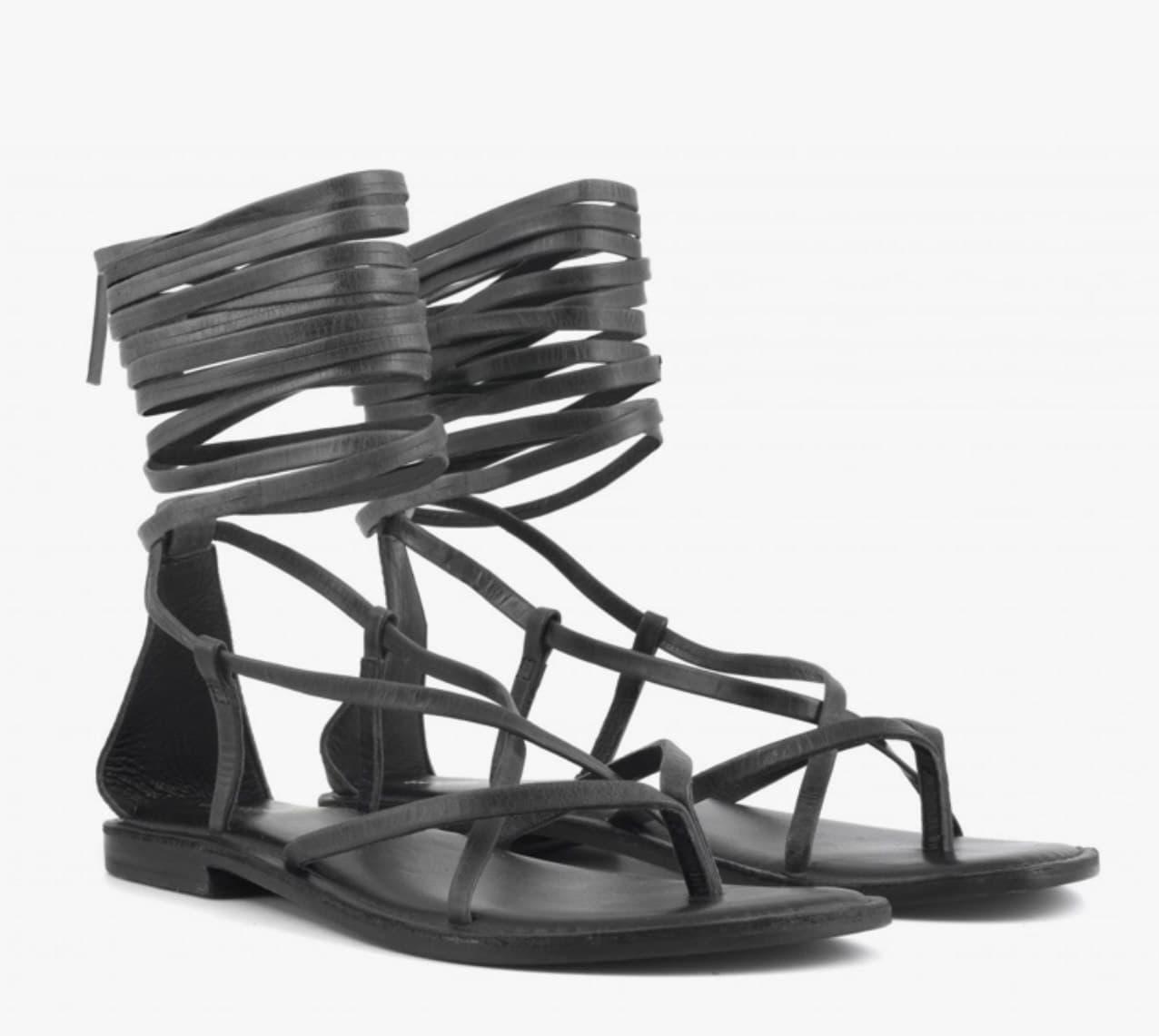 lacci in pelle CB FUSION | Sandalo | R221008BL