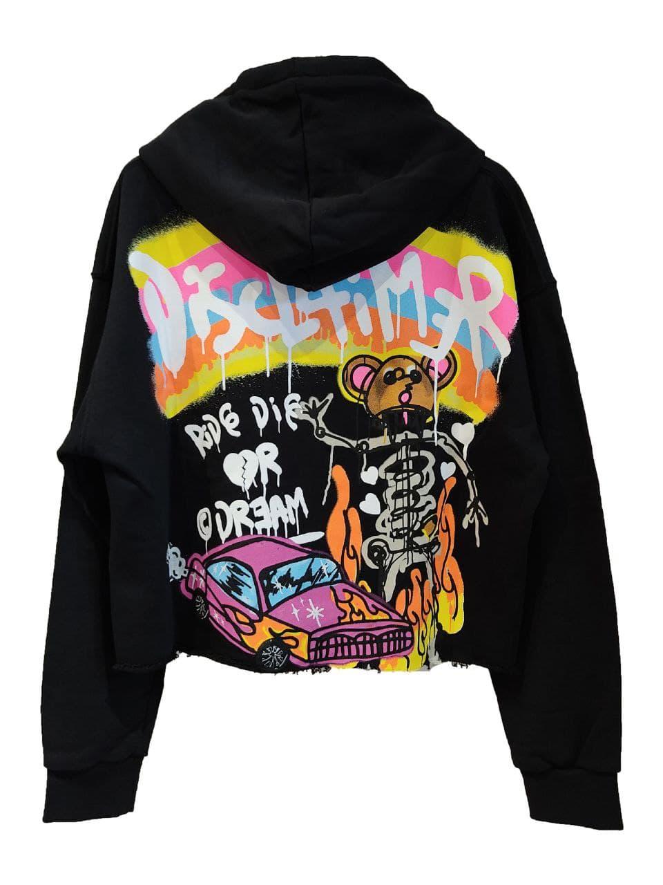 DISCLAIMER   hoodies   21EDS50641NE