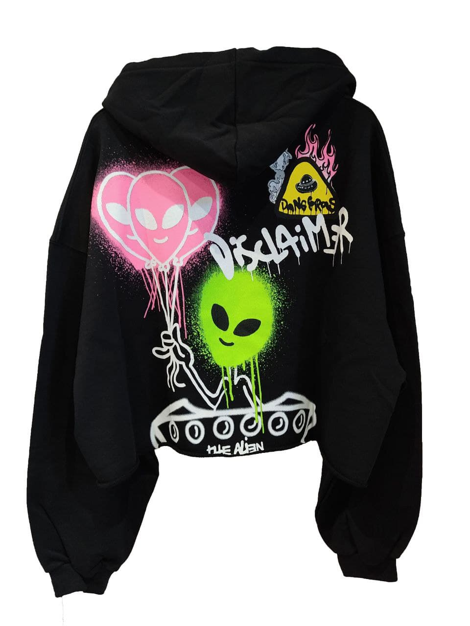 hoody aliens balloons DISCLAIMER   Felpa   21EDS50645NE