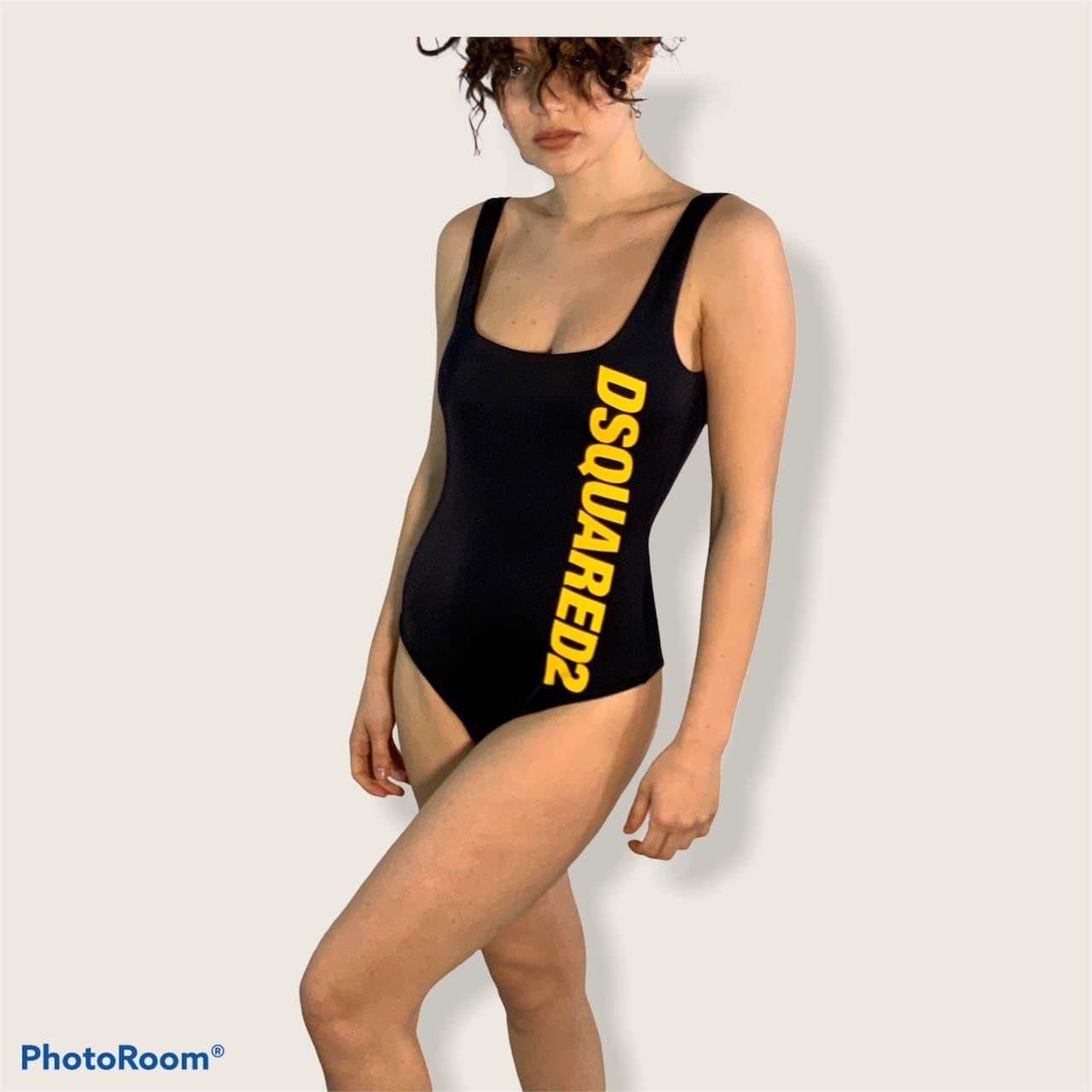 intero logo larale Dsquared2 | Costume | D6BG12830014