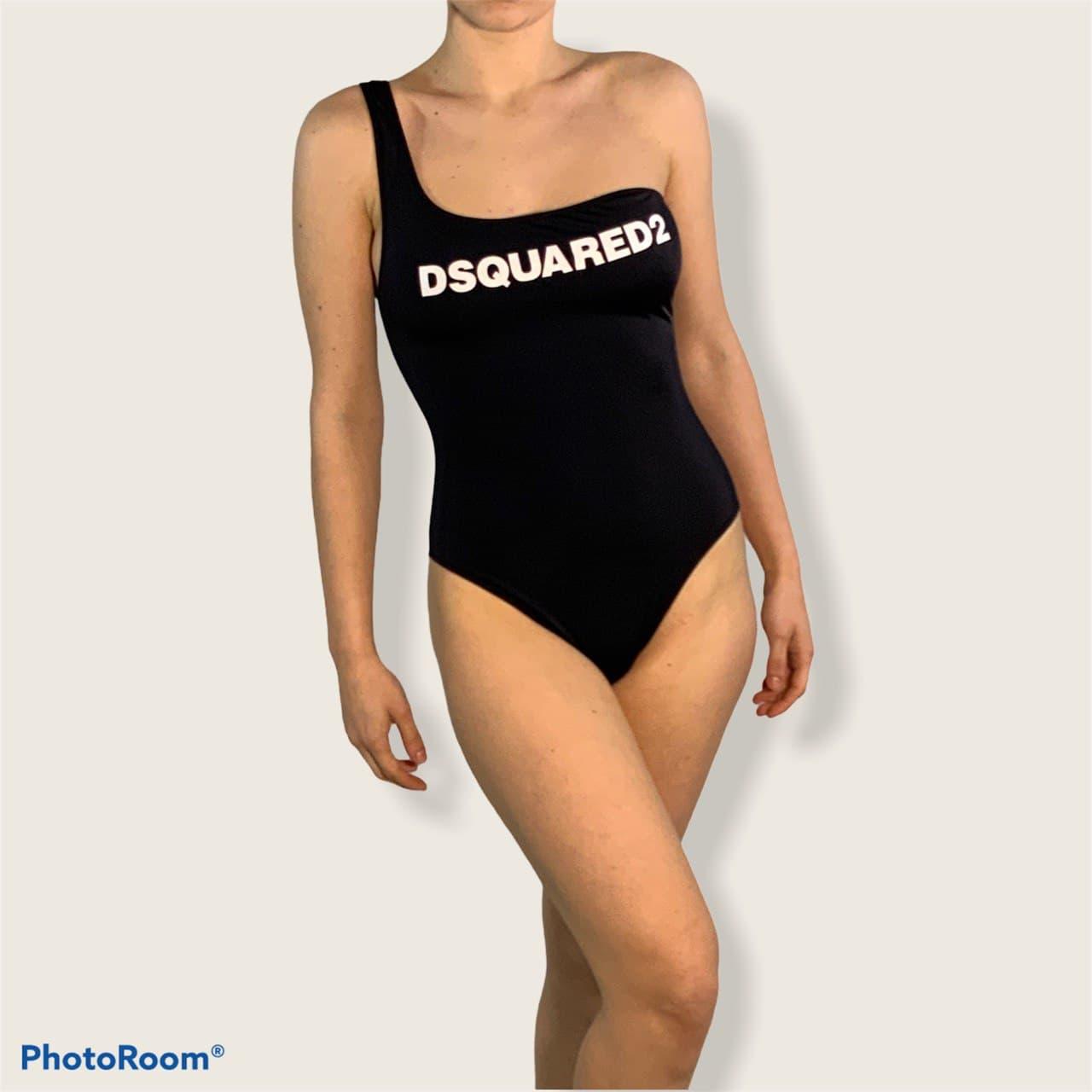 intero monospalla iconico Dsquared2 | Costume | D6BU52850010