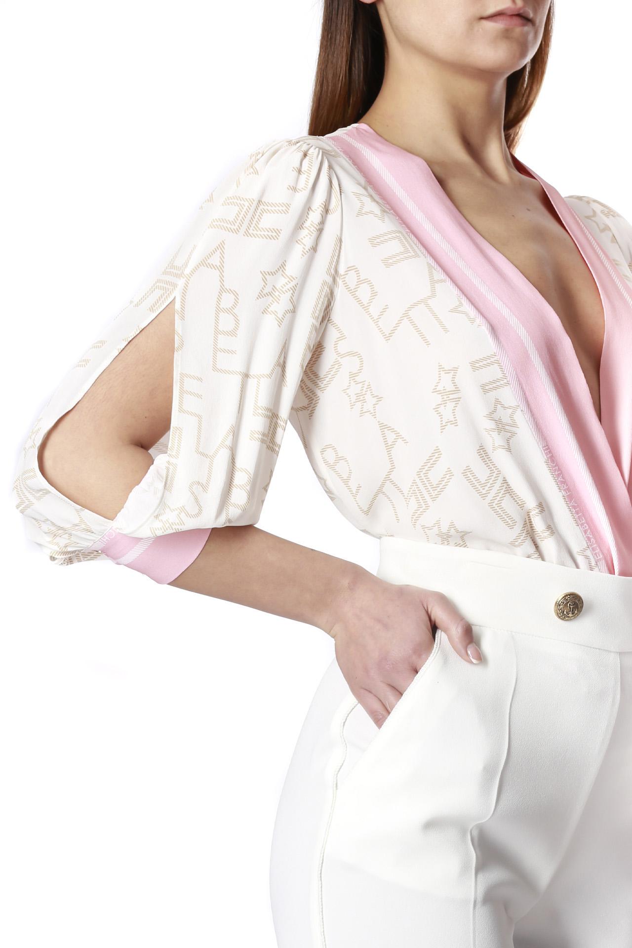 logata stelle ELISABETTA FRANCHI | Camicia body | CB10801E2193