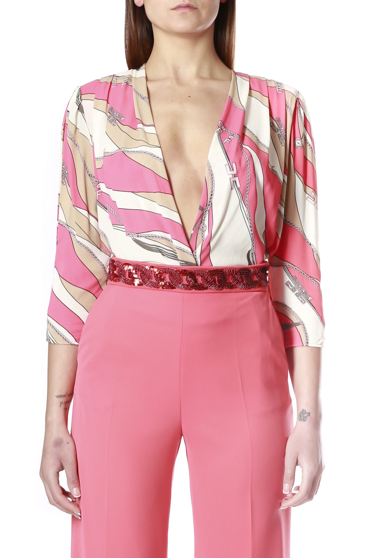 ELISABETTA FRANCHI | Body shirt | CB11002E2Y73