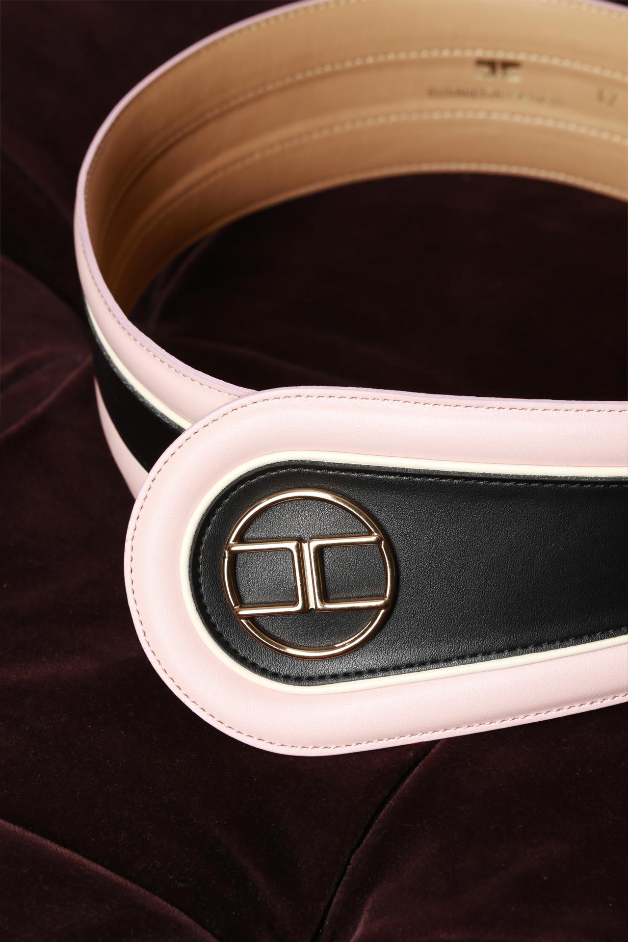 bicolor bordo stondato ELISABETTA FRANCHI | Cintura | CT78S97E2V36
